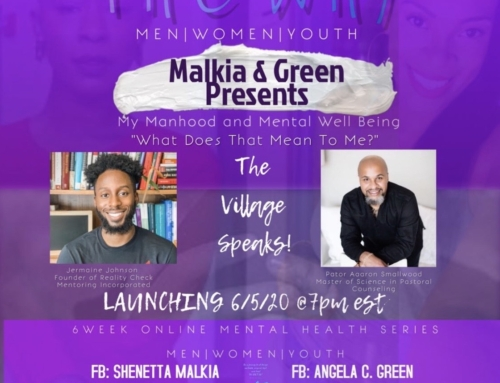 "Manhood & Mental Health ""What Does That Mean"" with Jermaine Johnson Reality Check mentoring & Aaron Smallwood"